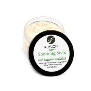 Fusion CBD Soothing Soak