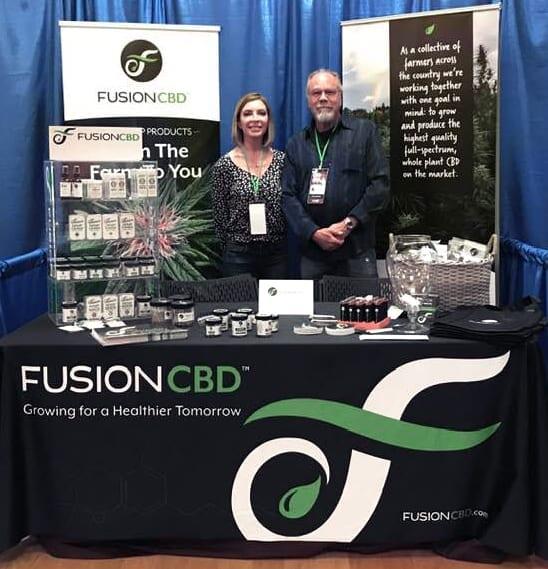 Michele and Ed of Fusion CBD